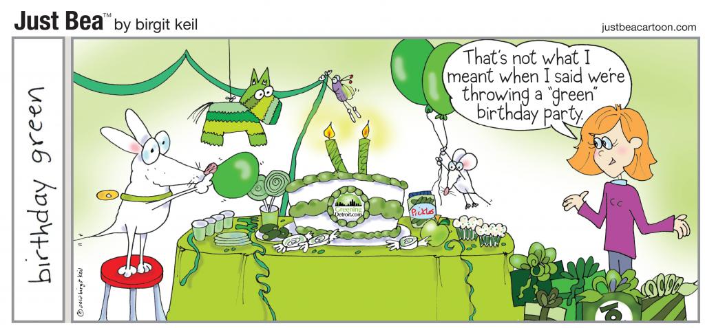 Birthday Green Greeningdetroit Com
