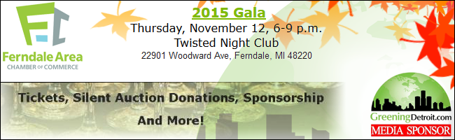 Ferndale Area Chamber of Commerce GALA 2015