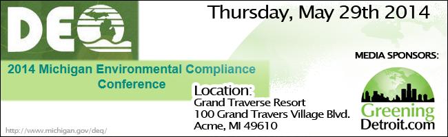2014 Michigan Environmental Compliance Conference