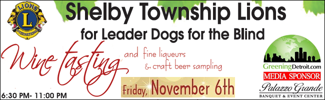 shelby township lions club wine tasting