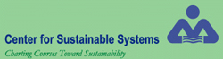 University of Michigan, Center for Sustainable Systems