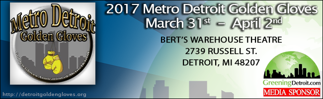 2017 Metro Detroit Golden Gloves