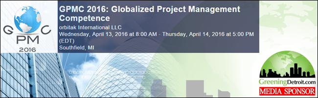 GPMC 2016: Globalized Project Management Competence