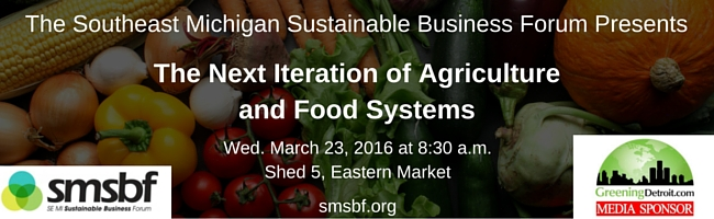 Southeast Michigan Sustainable Business Forum Event