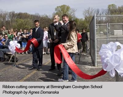 Ribbon-Cutting Ceremony at BCS