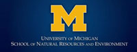 U of M School of Natural Resources and Environment Logo