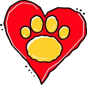 Friends for the Dearborn Animal Shelter Logo Heart 3C