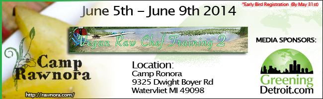Vegan Raw Chef Training 2