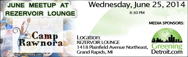 June Meetup at Rezervoir Lounge