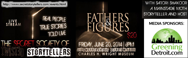 FATHERS and FIGURES The Secret Society Of Twisted Storytellers