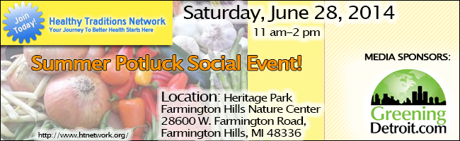 Healthy Traditions Network Summer Potluck Social Event