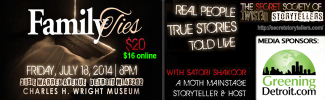 The Secret Society of Twisted Storytellers - Family Ties
