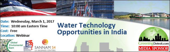 U.S. Commercial Service - Water Opportunities in India
