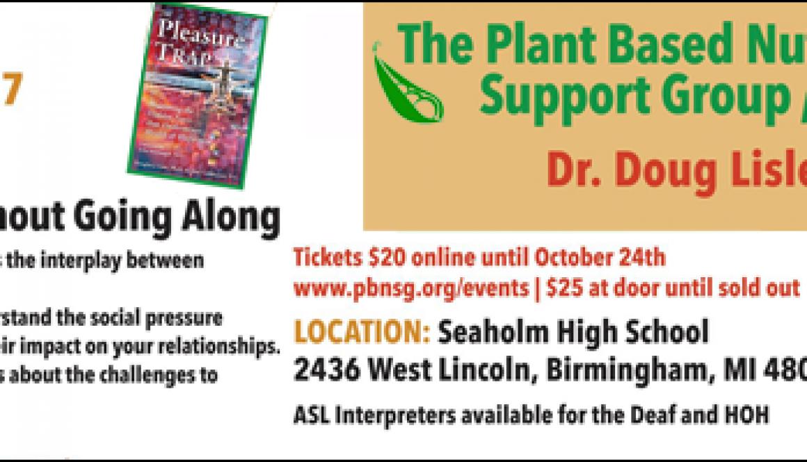 PBNSG - Dr.Doug Lisle Ph.D