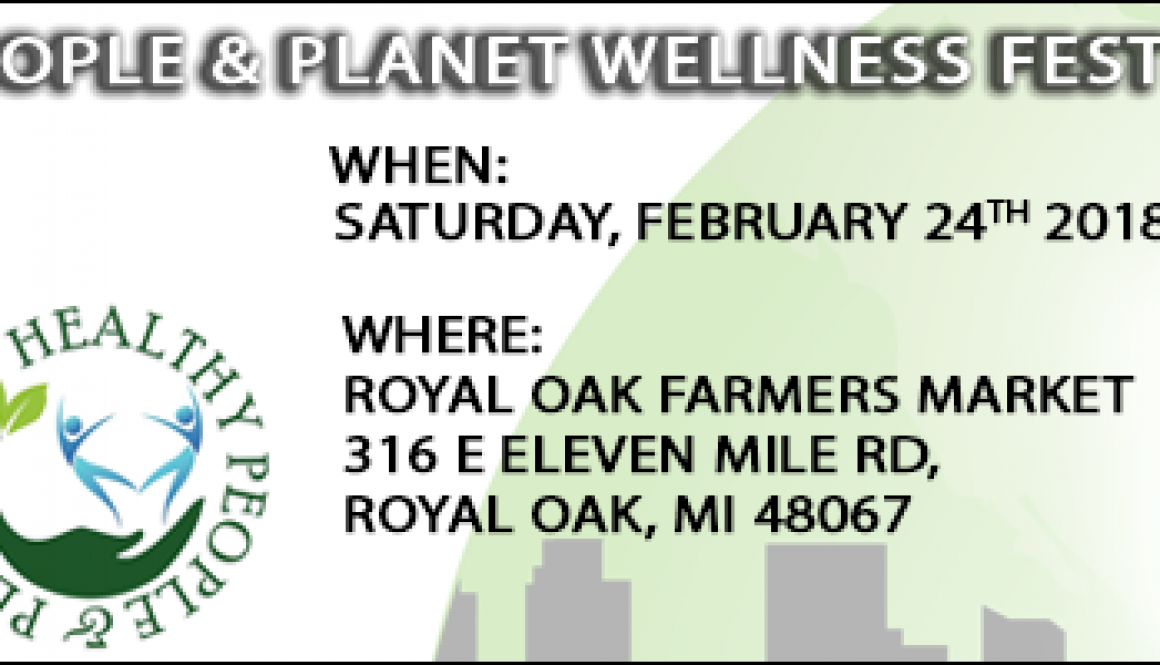 Mi Green Team - HEALTHY PEOPLE & PLANET WELLNESS FEST