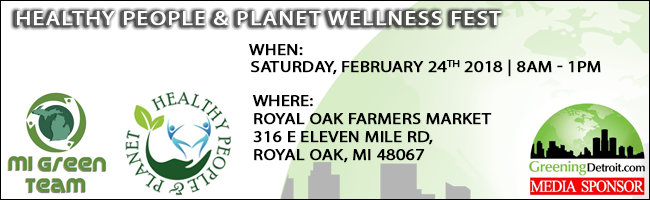 Mi Green Team - HEALTHY PEOPLE & PLANET WELLNESS FEST