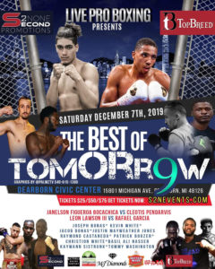 Hometown Boxers Favored On Card This Weekend At Ford Performing Arts Center